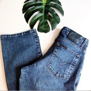 Harley-Davidson midrise bootcut jeans medium wash